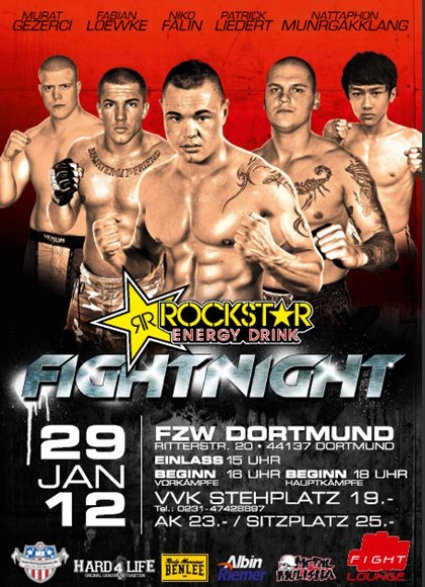 """ROCKSTAR"" FIGHT NIGHT"